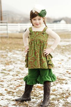 Still cannot wait for Fall Y'all....need to get Keke some boots!  Velvet ruffle shorts (perfect with boots for fall!)