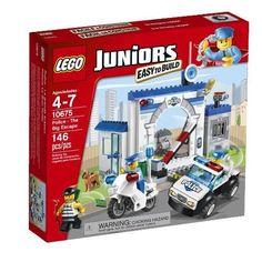 LEGO JUNIORS 10675 Police - The Big Escape Set 146pcs BRAND NEW IN BOX Age 4-7