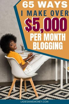 65 clever ways to make money blogging for beginners in 2020. How to monetize your blog and make money online blogging. Want to make money blogging? Find out how I make over $5000 per month blogging on a part time basis. To earn money blogging doesn't have to be so difficult. See how I do it!#makemoneyblogging #monetizeblog #blogging #bloggingformoney #bloggingforbeginners #howtostartablog #startablog #startingablog #howtoblog