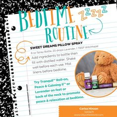 Tips for creating a soothing bedtime routine for children using essential oils