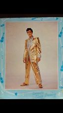 Elvis Presley 1957 signed 8x10 photo JSA authenticated Gold Lame Suit