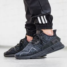 """We are releasing three new @adidasoriginals EQT's tonight, all part of the """"BLK FRDY"""" Pack. This EQT Support Cushion ADV drops online Nov. 24th at 00:01AM CET. #adidasoriginals #adidas #sneaker #sneakers #sneakerhead #blackfriday #onfeet #photography #hypebeast #highsnobiety #sneakernews #sneakerfreaker #allikestore"""