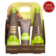 #Macadamia Natural Oil Mask Trio Pack | RRP $53.95 http://i-glamour.com/Product/801036/Macadamia-Natural-Oil-Mask-Trio-Pack