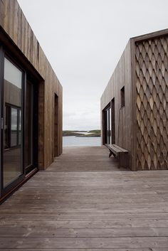 Fordypningsrommet Fleinvær, sustainable architecture, Norway. Photo: Anne Bråtveit
