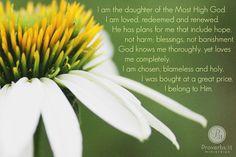 """""""He who belongs to God hears what God says."""" John 8:47a"""