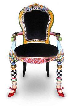 4098 Кресло Версаль 60х60х108см