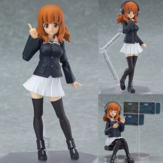 Figma 221 Saori Takebe Girls Und Panzer Anime Action Figure Max Factory Japan Now available at Figure Central (^o^)