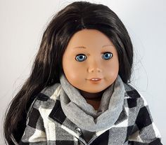 Brown Bird, Grey Scarf, Little Brown, 18 Inch Doll, Doll Clothes, Infinity, 18th, Etsy Shop, Fashion Outfits