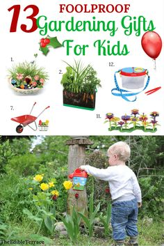 Are you trying to cultivate a little gardener in the family? These fun and gardening gifts for kids will make your shopping SO much easier. Your children will have DIY crafts and projects for hours! Can't get any better! Christmas, birthday, all holidays! Vegetable Garden For Beginners, Gardening For Beginners, Gardening Tips, Flower Gardening, Vegetable Ideas, Gardening Quotes, Gardening Supplies, Container Gardening Vegetables, Vegetable Gardening