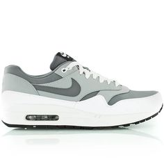 finest selection 131ec 9b0a7 nike AIR MAX 1 LTR grau grau weiss