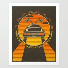 """""""Where We Are Going..."""" Art Print by Jazzberry Blue - $19.00"""