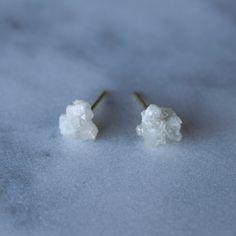Barite Stud Earrings