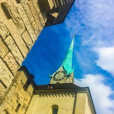 Fraumünster My Town, Zurich, Switzerland, Tower, Building, Travel, Woman, Voyage, Trips