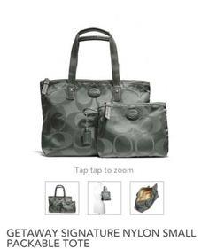 Coach Travel Bag $81