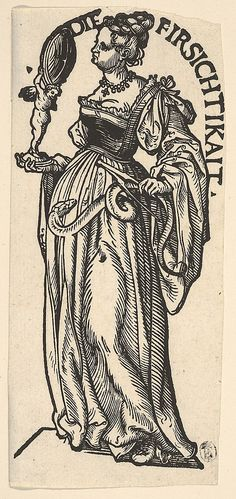 Prudence (Die Firsichtikait), from The Seven Virtues