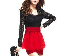 cool_black_lace_and_scarlet_red_mini_dress_ruffled_skirt_design_size_6_8_uk_dresses_2.jpg