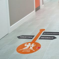 Vloersticker Floor Signage, Office Signage, Retail Signage, Event Signage, Floor Decal, Floor Stickers, Wayfinding Signs, Floor Graphics, Signage Design
