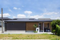 Flat Roof, Japanese House, Bungalow, New Homes, Exterior, Outdoor Decor, Modern, Home Decor, Japanese Homes