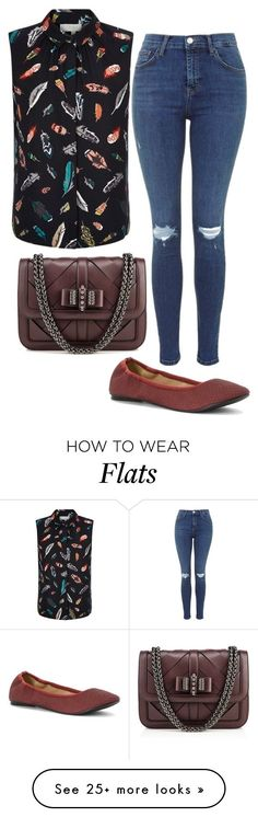 """Flying Low"" by pixleyhunter on Polyvore featuring Hobbs, Wanted and Christian Louboutin"