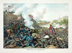 Battle of Franklin, by Kurz and Allison