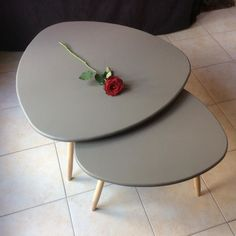 DIY - table basse tripode gigogne                              …