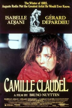 Camille Claudel.   Isabelle Adjani gives one of the greatest perfromances by an actress that I have ever seen on film.