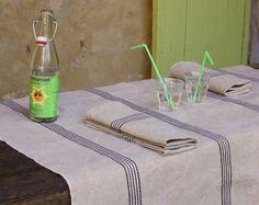 Manteleria vintage lino 100%, en MAISON ARTIST