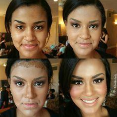 Makeup pross #byme  #gloriapelo #guruofbrides #LAgirlcosmetics  wearing Pure Beige,  Beautiful Bronze. LA conciler  for countering face  #elcuartodelanovia #google #youtube #tutorials #miamimua