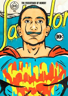 """""""The World Needs a Salvador"""" by Butcher Billy by Butcher Billy, via Behance"""