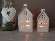 Witte huisjes  365 dagen kerst