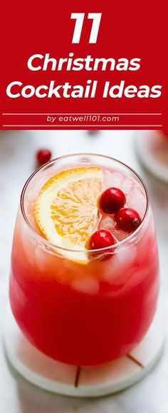 Christmas Cocktail Recipes – Choose one of these Christmas cocktails as a specialty drink for your annual Christmas party! Iced Tea Cocktails, Lemonade Cocktail, Refreshing Cocktails, Cocktail Recipes, Christmas Cocktails, Holiday Drinks, Recipe For 4, Recipe Ideas, Mulled Apple Cider