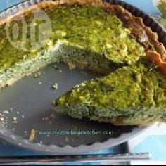 Italian style vegetarian quiche @ allrecipes.co.uk