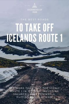 Looking for roads to take off Route 1? There is so much more to see in Iceland, and quieter too! #thingstodoiniceland #placestogoiniceland