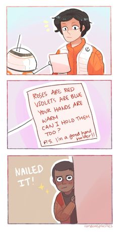 HOW TO WOO POE DAMERON by Randomsplashes on DeviantArt