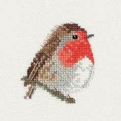 Buy+Robin+Cross+Stitch+Kit+Online+at+www.sewandso.co.uk