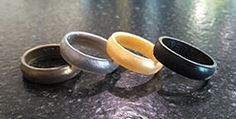 Silicone Wedding Bands....excellent for anyone the work with their hands!!