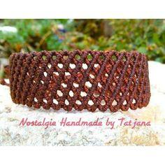 Men's bracelet https://www.facebook.com/Nostalgie-Handmade-by-Tatjana-425760884176858/