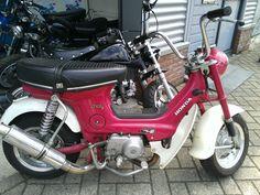 honda chaly 49cc  lady cub www.js4taktspecials.nl haarlem netherlands moped repair shop