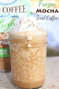 Frozen Mocha Iced Coffee
