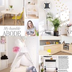 Sitting in my humble abode reading about My Humble Abode in @no1magazine.  Thanks so much to @palompopr @rls.interiors @eveconroy for making it possible. You gals did a fab job! If only it was this tidy all the time.   #interiors #style #decor #mumboss #instagood by frankie_looklook