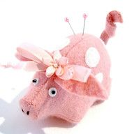 Penelope the Pig Pincushion