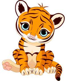 Cuddly Tiger Emoticon