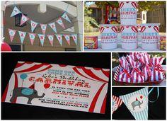More carnival birthday ideas