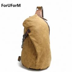 9edea11c22 ForUForM Crossbody Bag for Men Messenger Chest Bag Pack Casual Bag  Waterproof Canvas Single Shoulder Strap Pack 2017 New LI 1755-in Crossbody  Bags from ...