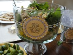 Story Book Baby Shower -- Mary Quite Contrary's Garden Salad