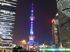 La torre de la perla oriental. Shanghai.