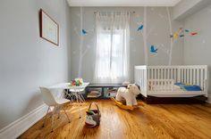 Clean nursery design