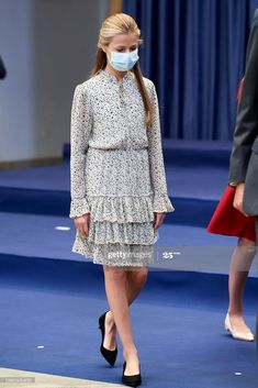 All The Princesses, Princess Of Spain, Style Royal, Spanish Royal Family, Queen Letizia, Celebrity Look, Royal Fashion, Crown, Casual