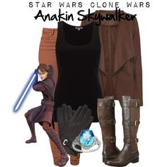 Anakin Skywalker casual cosplay. I likes it a lot.