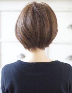 トップふんわり小顔のこだわりショートヘア(YJ-134) | ヘアカタログ・髪型・ヘアスタイル|AFLOAT(アフロート)表参道・銀座・名古屋の美容室・美容院